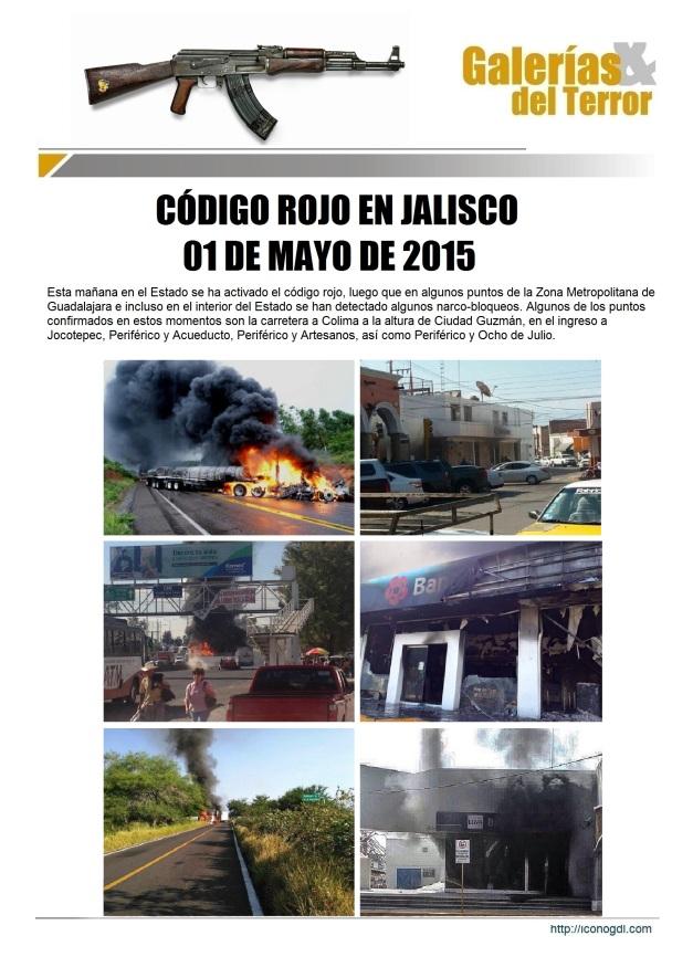 Código ROJO Jalisco 2015